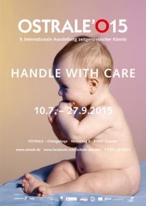 Affiche de la 9ème édition de l'Ostrale © Ostrale / Dr. Martin Müller / Getty images